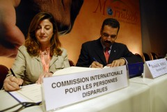 INTERPOL and the International Commission on Missing Persons sign a co-operation agreement for sharing expertise and information