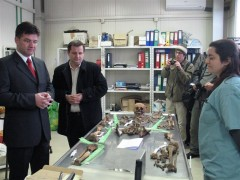 HR/EUSR Lajčák tours ICMP's Podrinje Identification Project in Tuzla