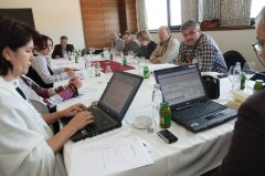 Joint Working Group during the meeting