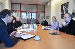 Delegation of War Crimes investigative authorities from Serbia visit ICMP
