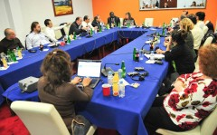 Lebanese delegation during a round table with ICMP representatives, held in Sarajevo, Bosnia and Herzegovina.