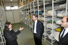 Principal Deputy High Representative Moore briefed in the Podrinje Idenitification Project (PIP)