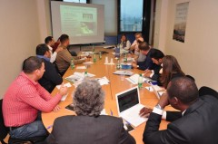 Iraqi delegation during a working meeting in ICMP's HQ in Sarajevo, Bosnia and Herzegovina.