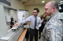 Commander of NATO's Sarajevo Headquarters Brig. Gen. Enyeart visits ICMP