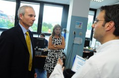 British Minister for Europe, David Lidington visits ICMP HQ