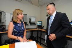 RS Health Minister Skrbic visits ICMP HQ