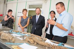US Ambassador Patrick Moon visits Podrinje Identification Project in Tuzla