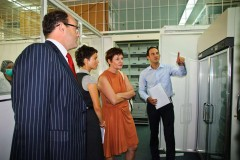 German Embassy delegation visits ICMP facilities in Tuzla