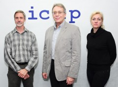 In the photo (from left to right): 1) Dr. Tom Parsons, ICMP's Director of Forensic Sciences, 2) Dr. Pavel Ivanov, Deputy Director and Director of Forensic DNA Unit of the Federal Center of Forensic Medical Expertise (FCFME) at the Ministry of Health of the Russian Federation, 3) M.D. Elena Zemskova, Head of Casework DNA Typing Lab.
