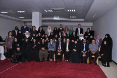 Participants of an exchange visit in Iraq