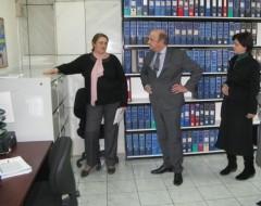 Posjeta nizozemskog ambasadora Nj.E. Jurriaana Kraaka ICMP-u u Tuzli