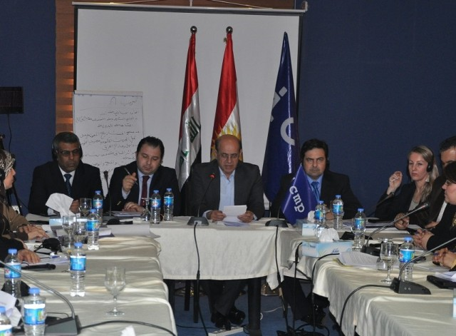 "The ""Ship of Life"" Association of Families of Missing Persons held a meeting in Erbil"