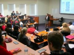 Predavanje na Školi za javnu upravu i javnu politiku (EGAP)