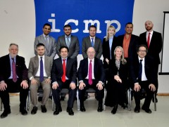 The UK All Party Parliamentary Group on Kurdistan during the visit to ICMP office in Iraq