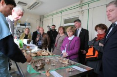 Scottish Dignitaries Visit ICMP staff members working in PIP