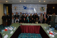 Participants at the Ship of Life meeting in Basra