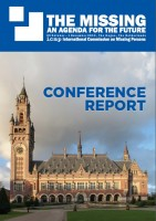 ICMP Conference Report, The Missing: An Agenda for the Future