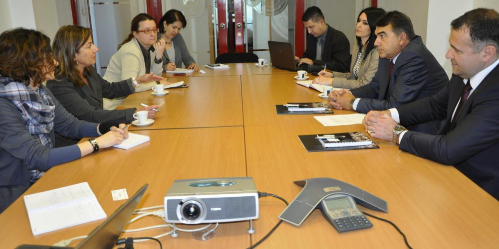 Meeting of ICMP Director General and BiH Chief Prosecutor in ICMP's HQ.
