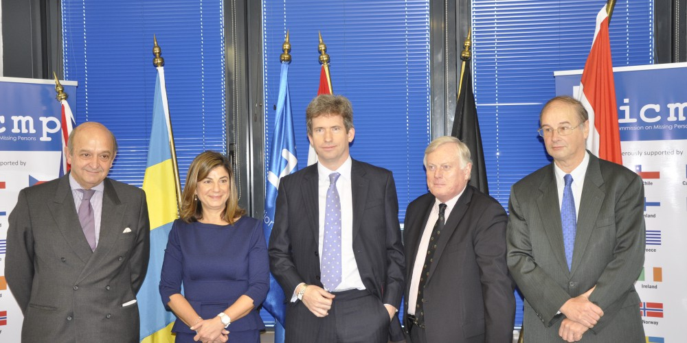 Ms Bomberger was joined at ICMP headquarters in Sarajevo joined by Dutch Ambassador Jurriaan Kraak (also representing Luxembourg), UK Ambassador Edward Ferguson, Swedish Ambassador Fredrik Schiller and Mr. Jean-Pierre Biebuyck representing Belgium, at a press conference explaining the significance of the treaty, which was signed in Brussels on Monday.