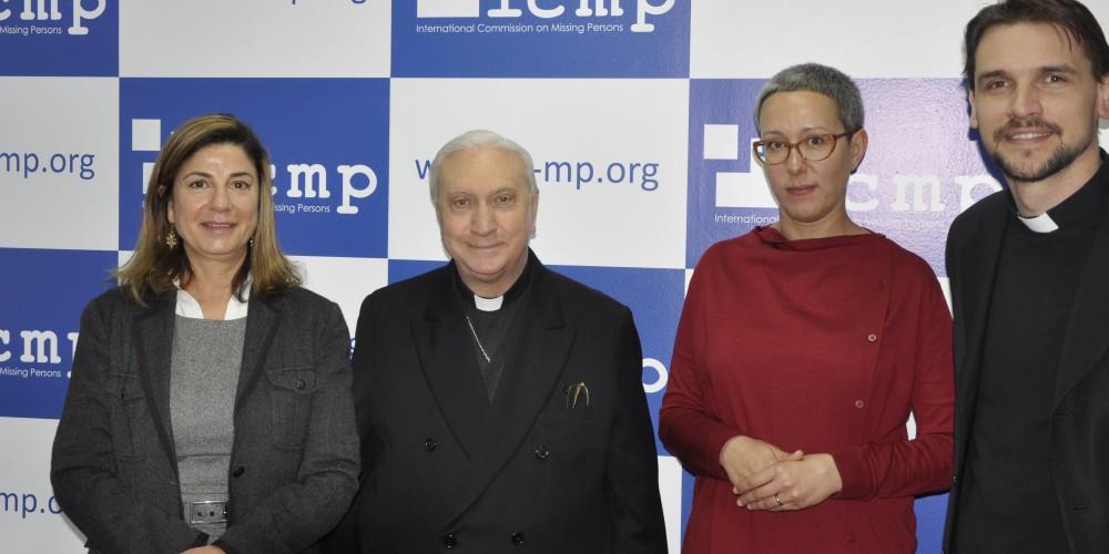 2015 04 30 Apostolic Nuncio visits ICMP